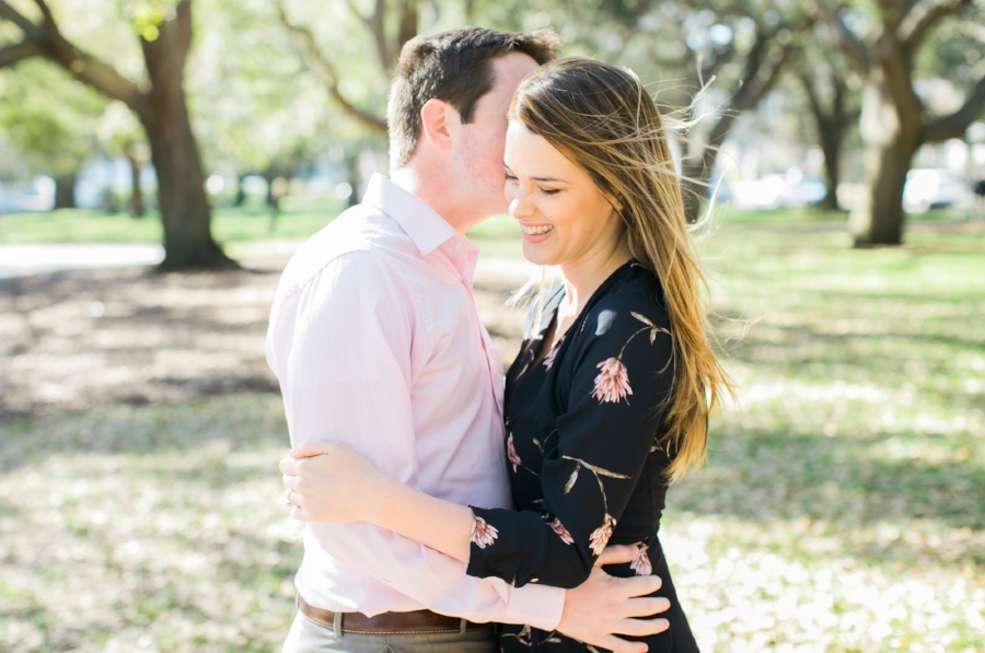 White Point Garden engagement session