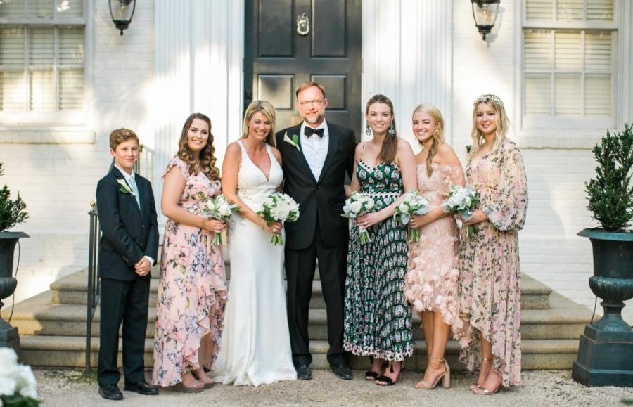Green Boundary Club wedding