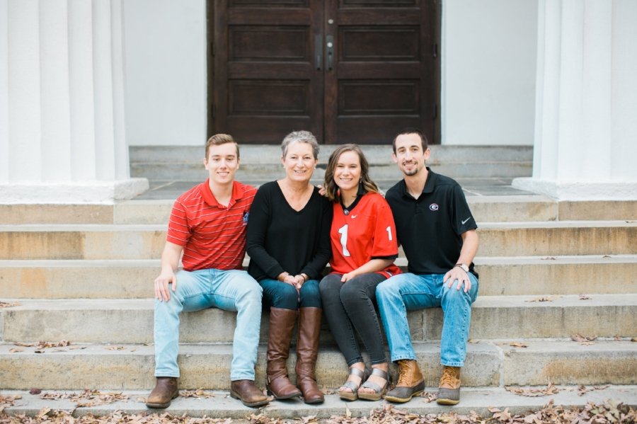 UGA family photo session