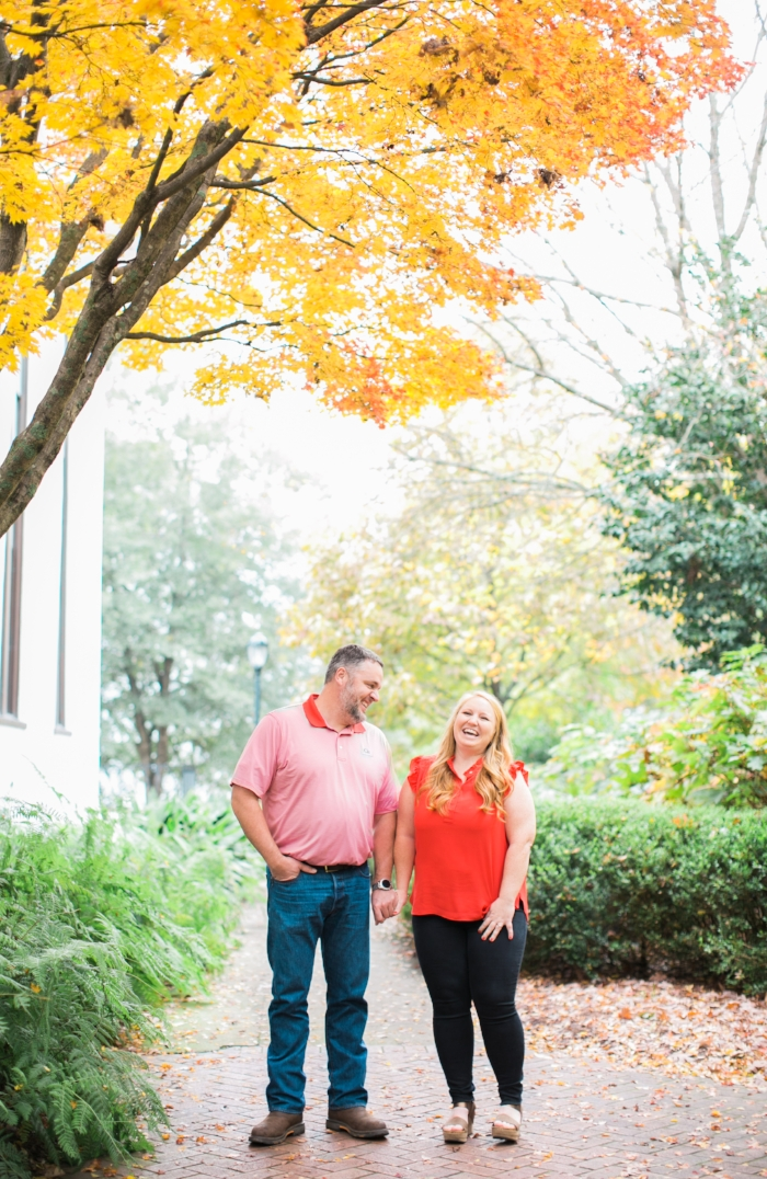 UGA engagement photos