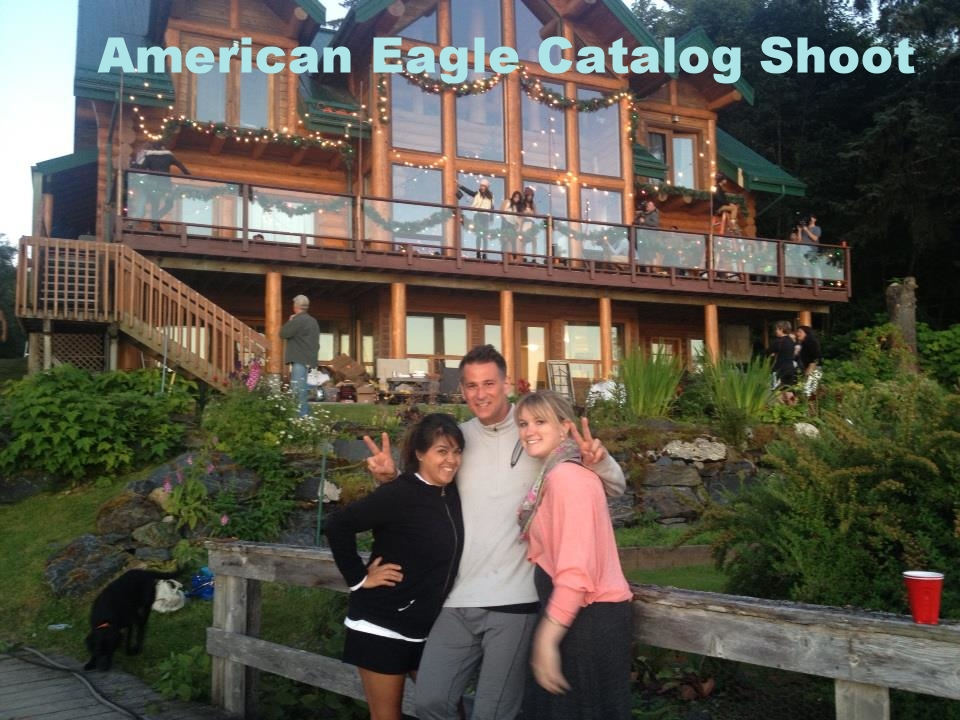 American Eagle Photo Shoot