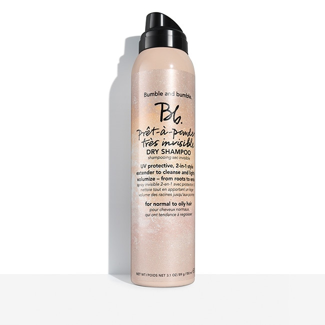 - Formulated with French Pink Clay, this dry shampoo absorbs oil and sweat from roots to ends, leaving strands lightly scented – with no trace of white residue. UV filters that help protect against the drying effects of the sun are added.