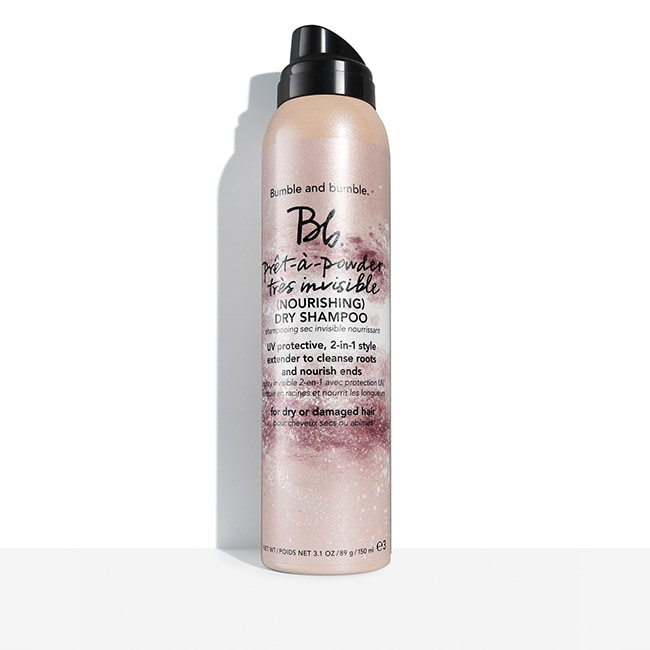 - Formulated with Hibiscus Extract, this dry shampoo absorbs oil at the root, while nourishing dry ends. Strands are left lightly scented – with no trace of white residue. UV filters help protect against the drying effects of the sun.