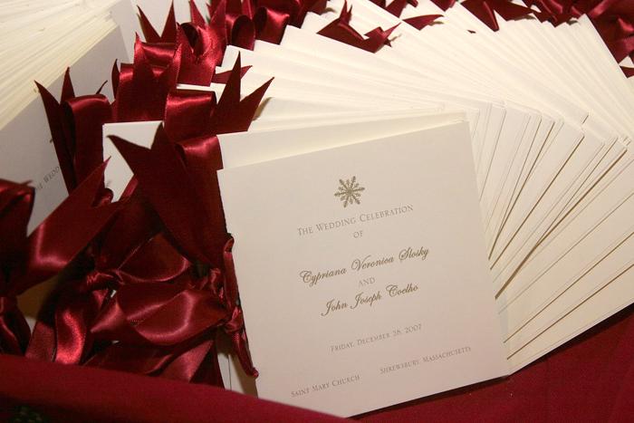Christmas Ceremony Programs