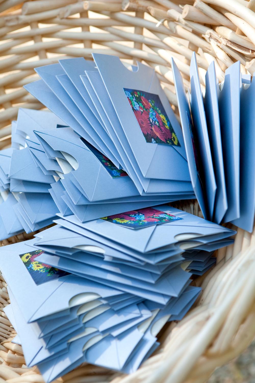 Basket of Ceremony Program Pockets