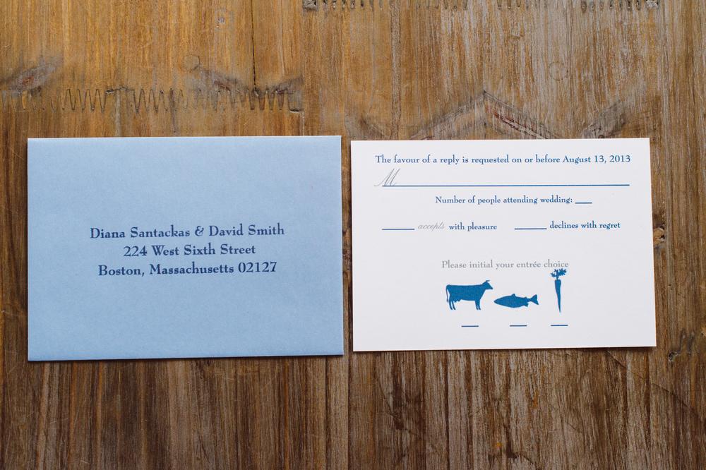 5x5 boston skyline pocket fold invitation