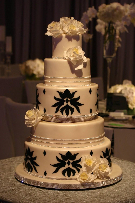 Damask Sparkle Cake2