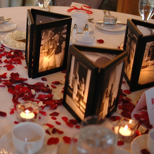 Relatively DIY Picture Frame Centerpiece — Dinner Parties,Baked Goods  GB26