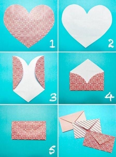 Как сделать конверт небольшой