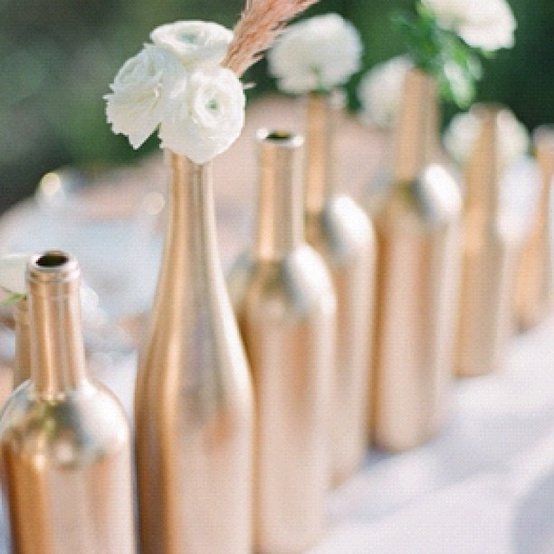 DIY Painted Wine Bottles Dinner PartiesBaked Goods Graphic Fascinating Decorative Wine Bottles Diy