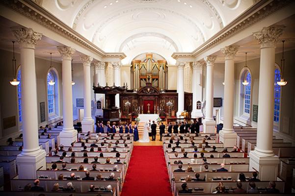 Memorial Chapel at Harvard University, Cambridge, Massachusetts