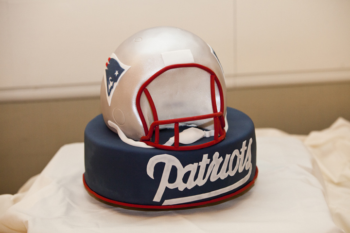 This Groom S Cake Is Perfect For The New England Patriots Fan By Confectionery