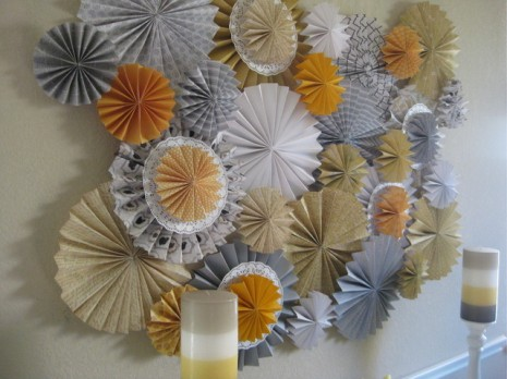 DIY - Paper Fan Backdrop — The Perfect DetailsThe Perfect