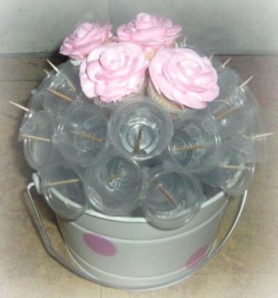 Diy Cupcake Bouquet Dinner Parties Baked Goods Graphic Design Website Design In Lexington