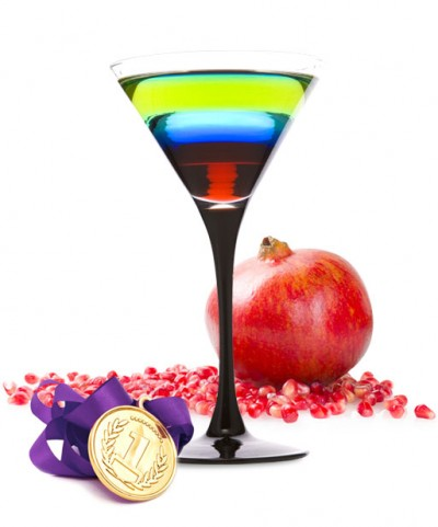 With the Opening Ceremonies for the 2014 Sochi Winter Olympics starting tomorrow night, we found a cocktail recipe on DailyCocktails.com that is sure to get you in the mood to cheer on your favorite country! The only thing missing is the Olympic flame!  We are excited to watch the Olympics and we are cheering on Team USA! Ingredients 1 oz. of Daily's Grenadine ½ oz Cointreau 1 oz. Blue Curacao 1 oz. Midori ½ oz. of Daily's Lime Juice Pour ingredients slowly, in order listed above, it into a chilled martini glass. Recipe Notes Garnish with team spirit.  Photo & Recipe: http://dailyscocktails.com/