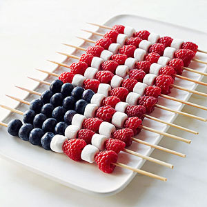 Of course we have to include a treat inspired by the flag of the United States of America! Go USA!  http://tinyurl.com/ns9yvgx