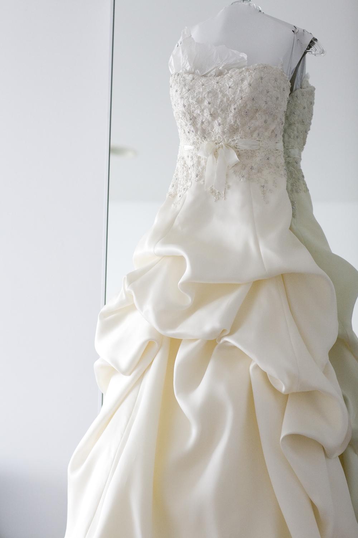 Rita's Monique L'huillier bridal gown