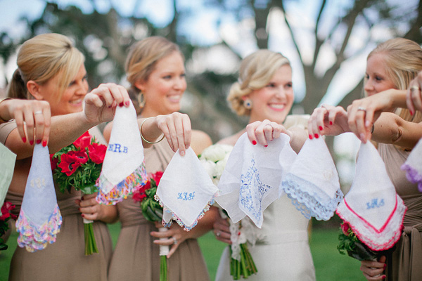 We love embroidered handkerchiefs! So decidely Southern!