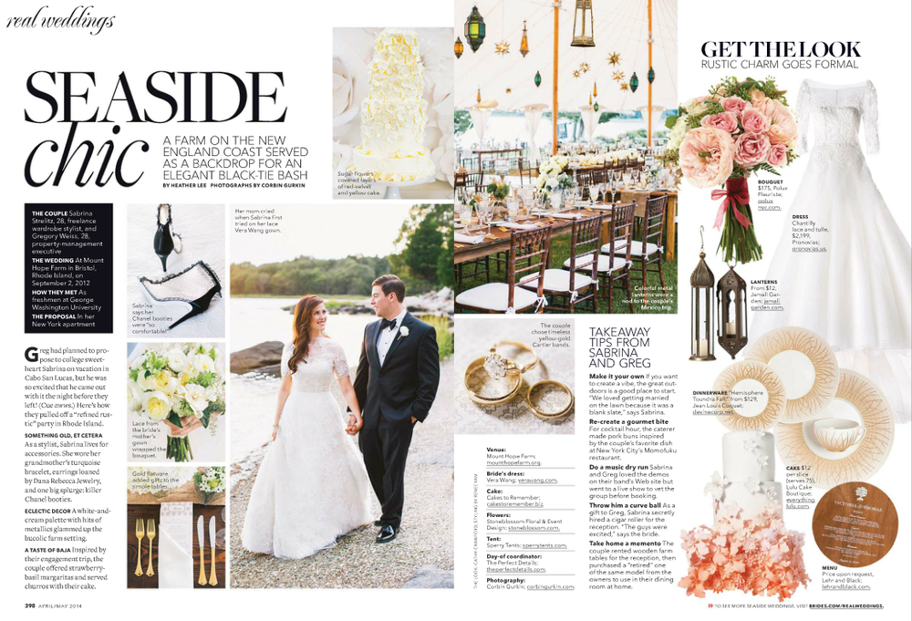 Image credit: Brides Magazine via A Moment in Style
