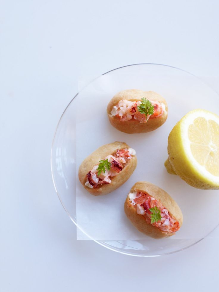 Lobster is one of those great New England treats and this mini lobster rolls are great at cocktail hour or as a late night snack!