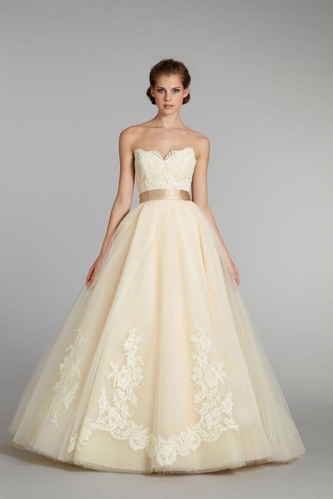 Last but certainly not least, this Pale Yellow Bridal Gown simply takes our breath away!