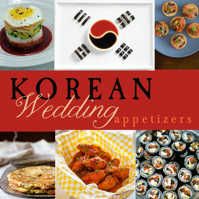 Yummy Monday: Korean Inspired Appetizers for your Wedding — Dinner ...