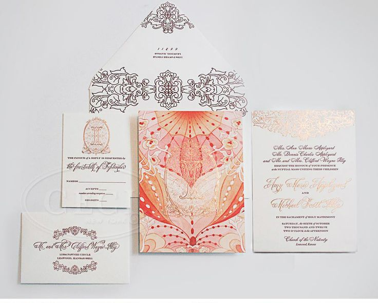 Ceci invitations just make us swoon over here at The Perfect Details and the combination of foil, letterpress, watercolor sets the tone for an AMAZING soiree!