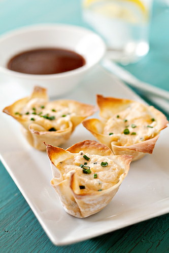 Baked Crab Rangoon - this is a great twist on a classic Chinese restaurant favorite. And it's baked!