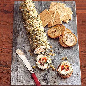 Cream Cheese & Chutney Roulade = This roulade can be made ahead of time for sure! We think you can use this recipe as a base for other filling combinations: dried tomato and pesto, Kalamata olive tapenade and pesto, etc.