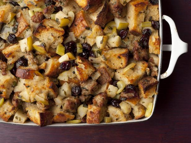 Contessa recipe for Sausage and Herb Stuffing - I love a good stuffing ...