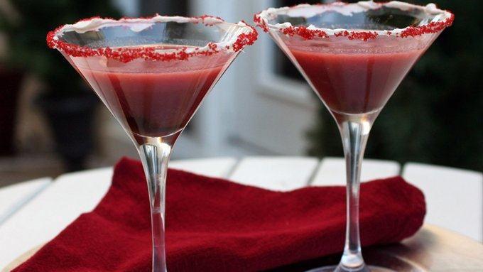 Red Velvet Cake Martini
