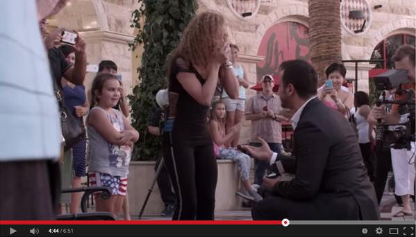 Flash Mob Surprise Proposal