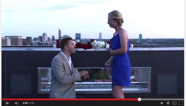 Scavenger Hunt Marriage Proposal