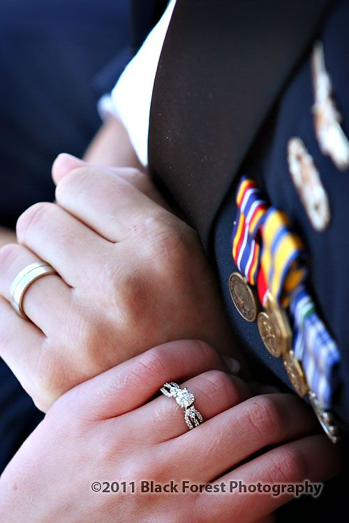 Wedding Wednesday: Air Force Military Wedding Details — Dinner ...
