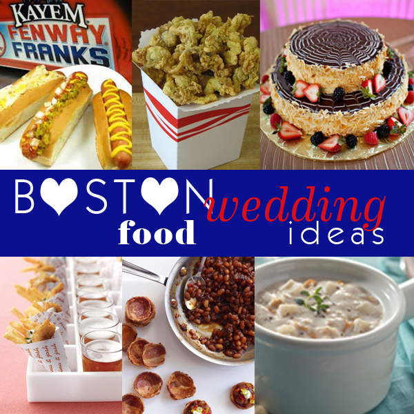 Wedding Food Menu Ideas: Yummy Monday: Boston Wedding Food Ideas