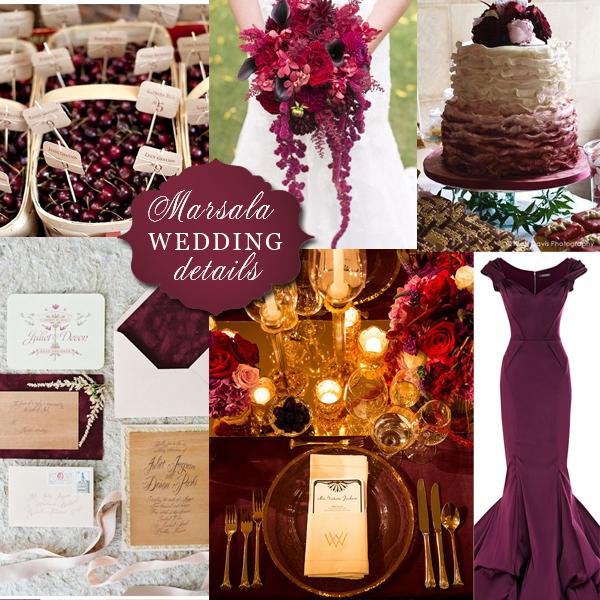 Wedding Wednesday Pantone S 2015 Color Of The Year
