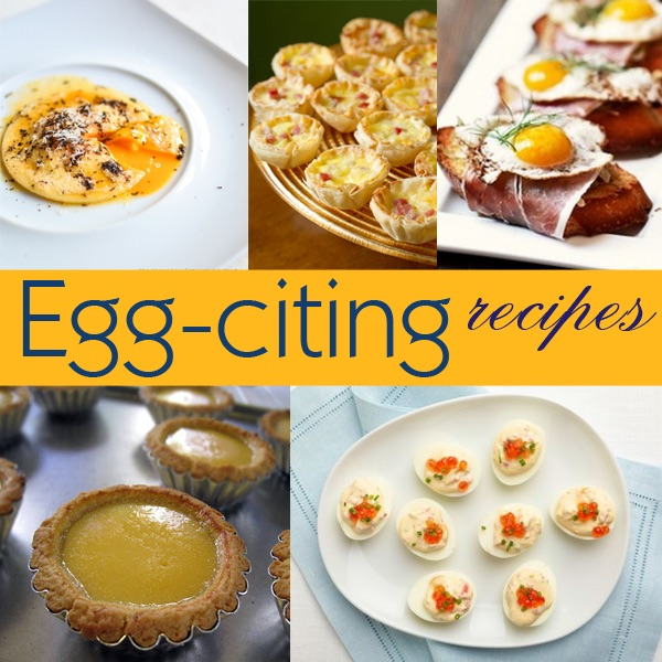 Yummy Monday: Egg-citing Recipes featuring the Wonderful