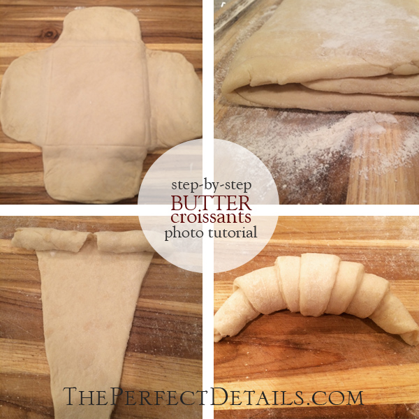 Photo Tutorial Step By Guide To Baking Butter Croissants Pain Du Chocolat