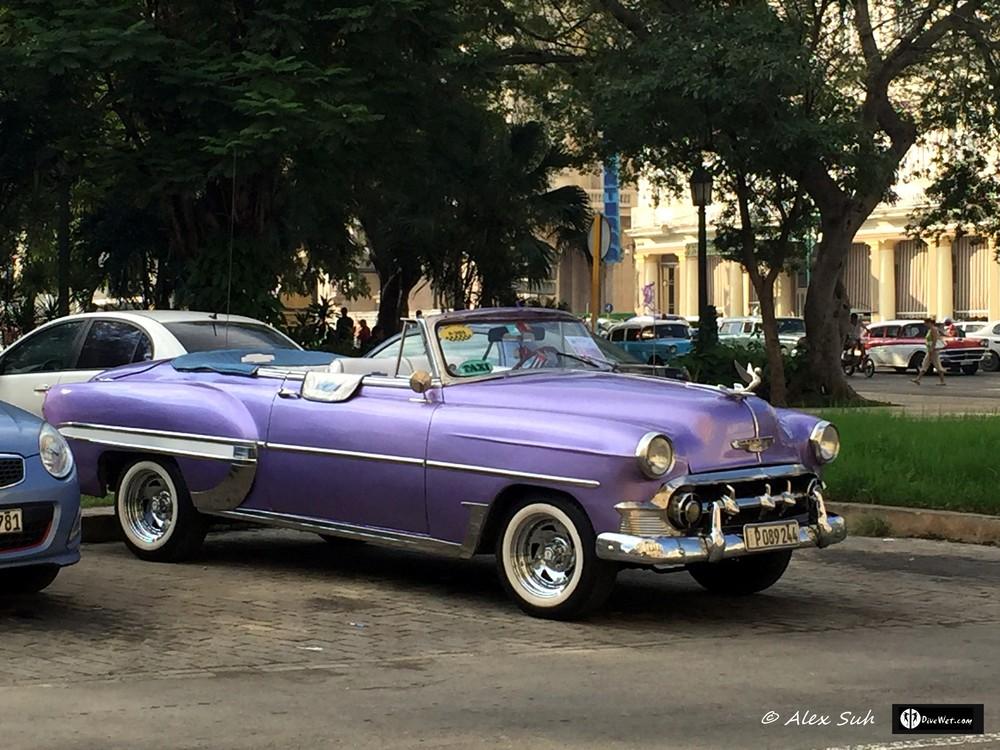 Classic color, classic car