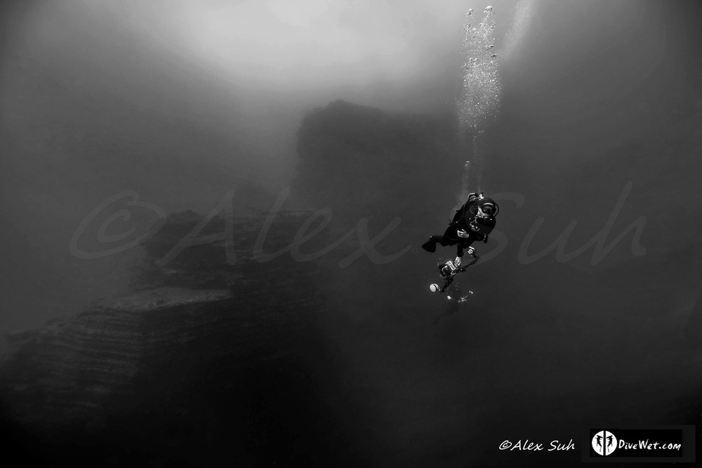 San Benedicto, Mexico (The Boiler) Diver 3D Look