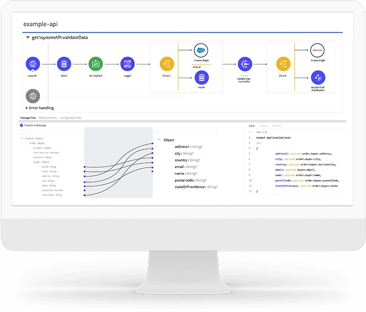 Create seamlessly connected experiences - Bring the power of integration to your enterprise.Future-proof your integrations with API-led connectivity.Empower your organization to innovate faster.Extend core capabilities to partners, customers, and developers.