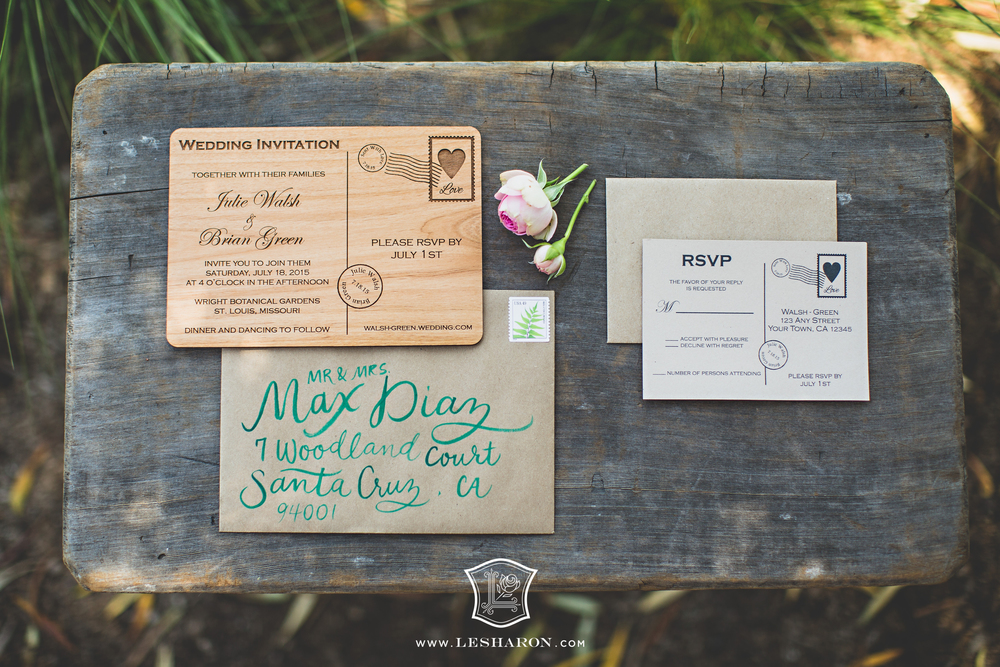 Whimsical Woodland Love Wedding LeSharon.com
