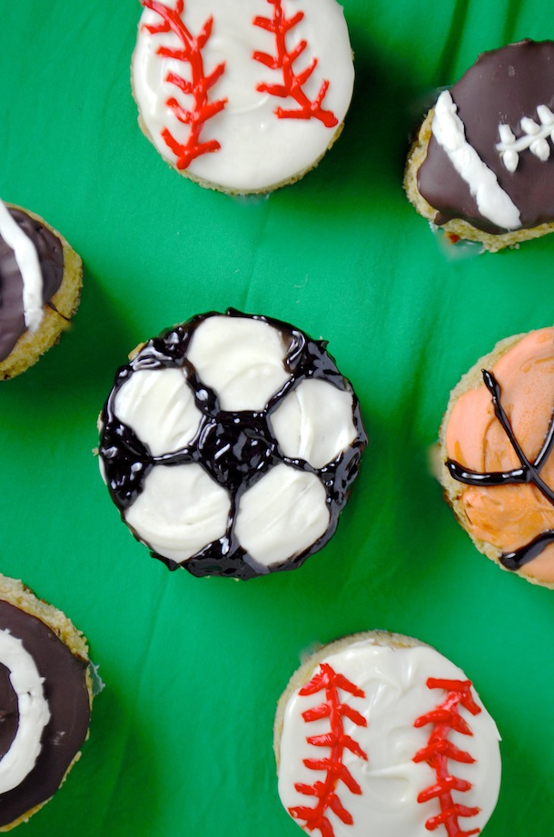 Sports Cup Cakes