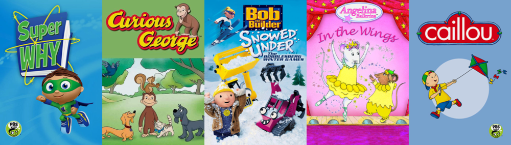 Stream Team February Little Kids Movies