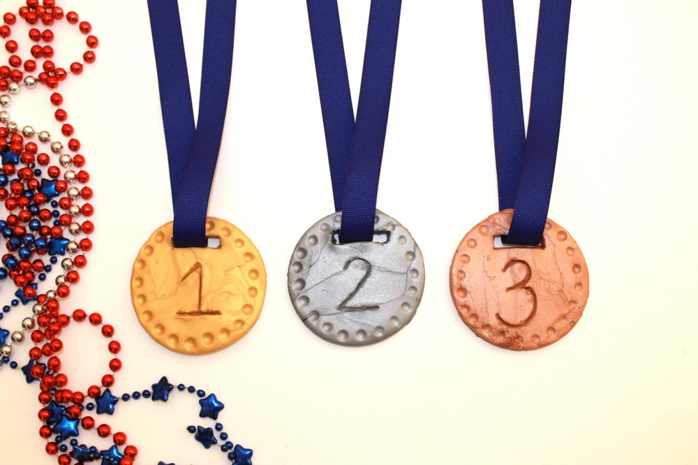 Gold, Silver and Bronze Medals Crafts