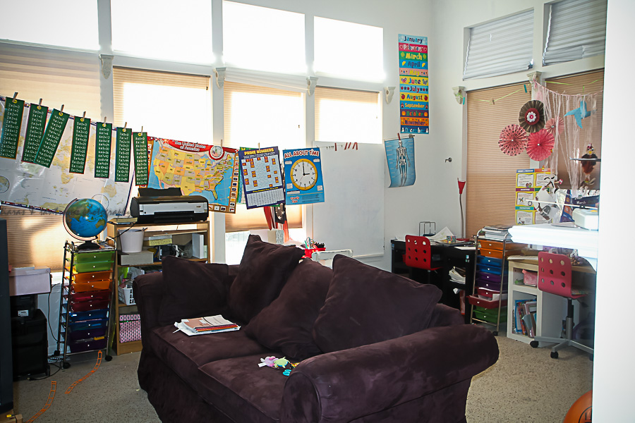 Homeschool Classroom Tour