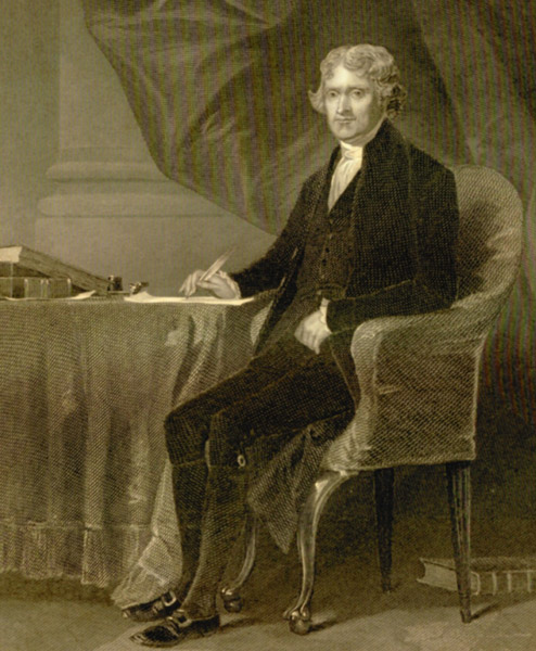 an analysis of thomas jefferson the author of the declaration of independence on slavery Thomas jefferson and antislavery: the myth goes on  the strange career of thomas jefferson: race and slavery in american  declaration of independence and.