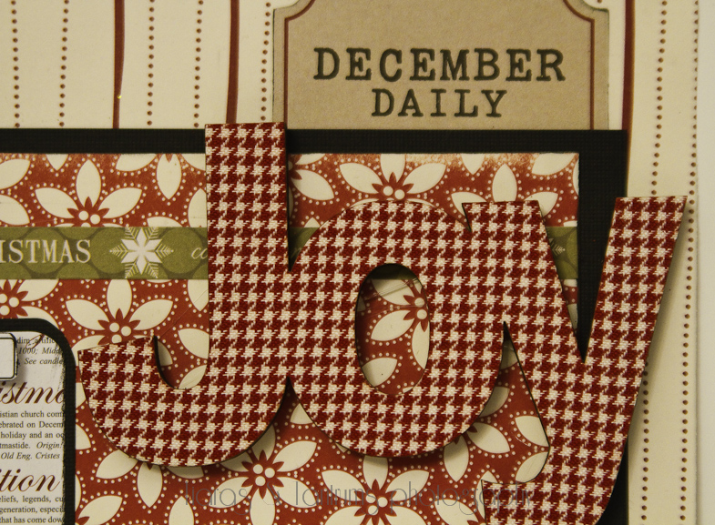 Journal Your Christmas with Teresa Collins