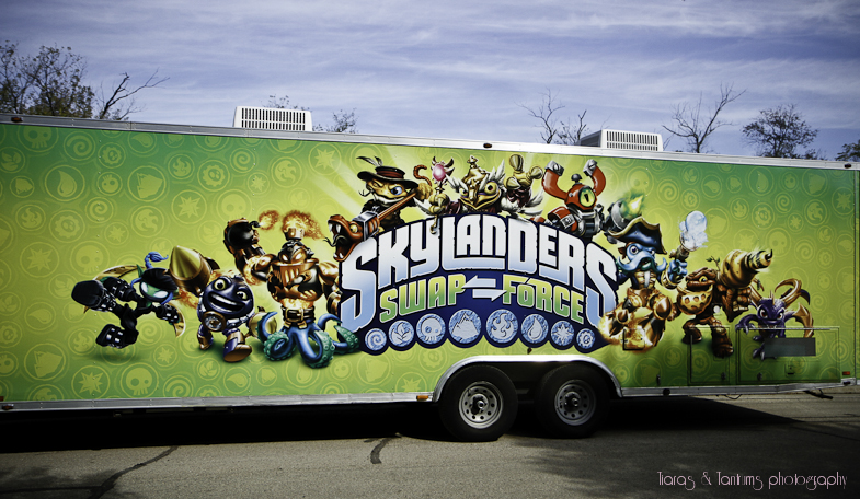 Skylanders SWAP Force Game Truck
