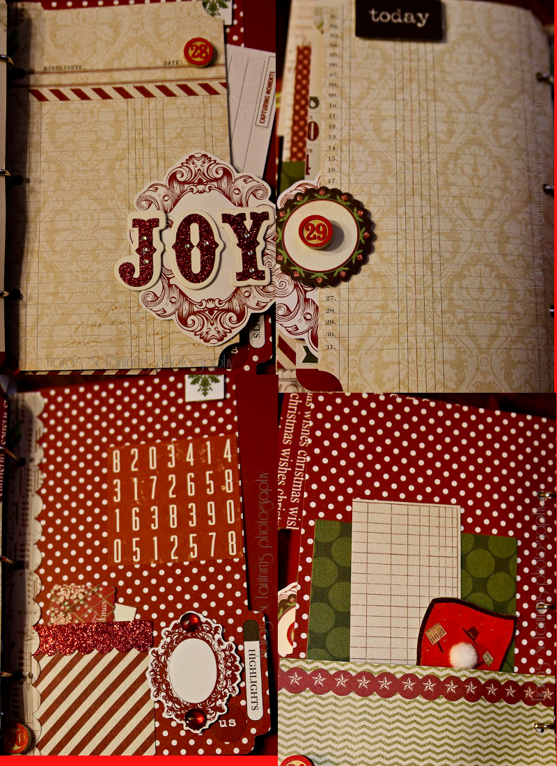 Journal Your Christmas Part II Using Teresa Collins